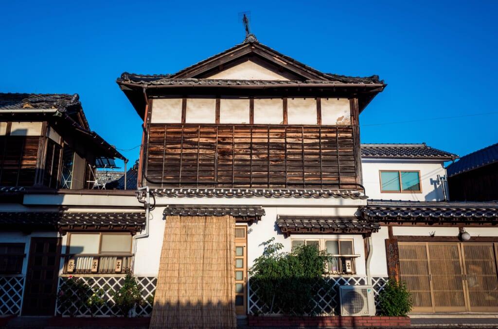 Une des maisons traditionnelles japonaises de Joge