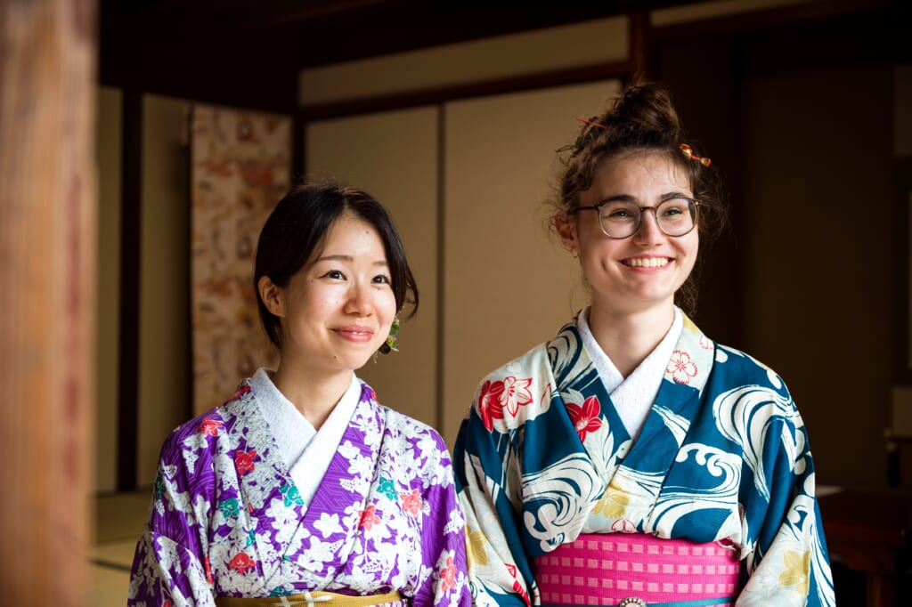 Location de kimono dans la préfecture d'Hiroshima