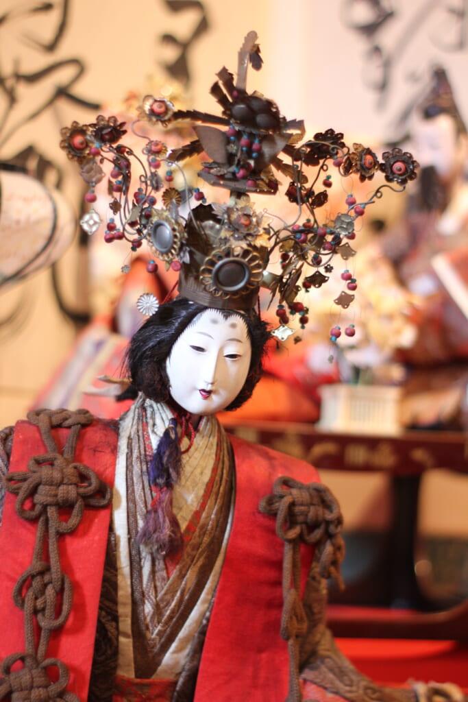 Poupée traditionnelle japonaise