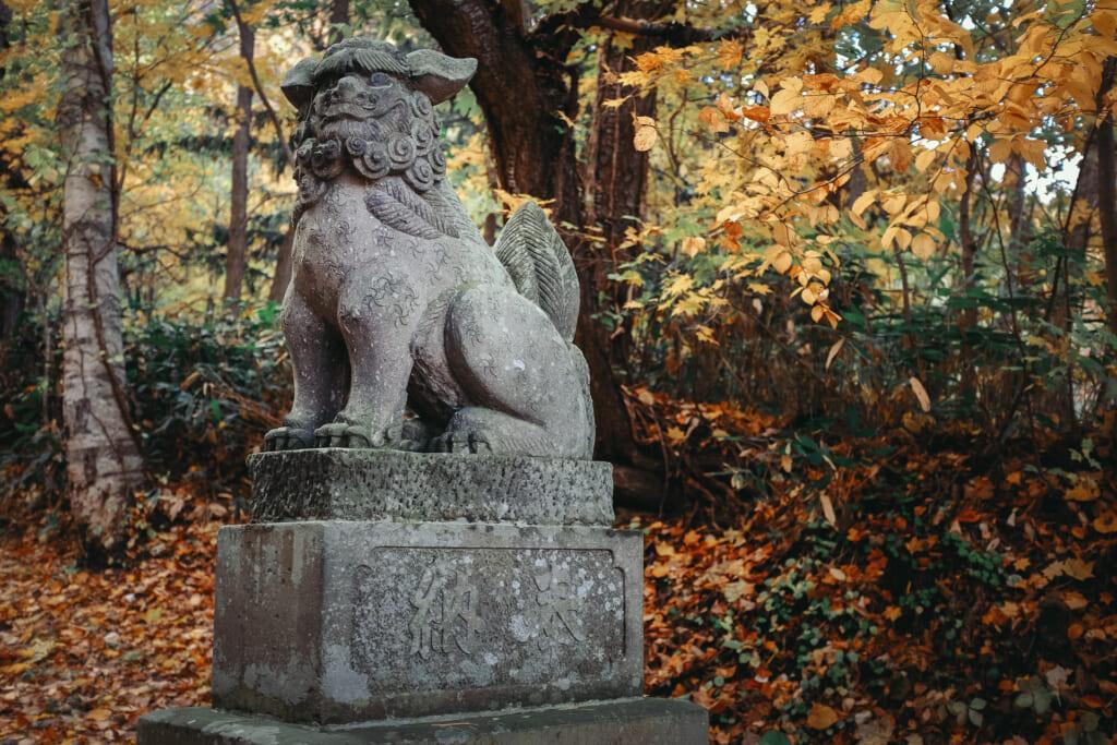 Komainu, le gardien des sanctuaires japonais