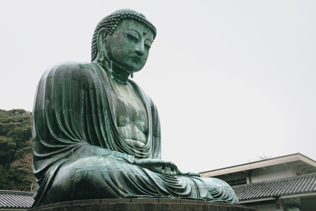 Statue de bouddha à Kamakura