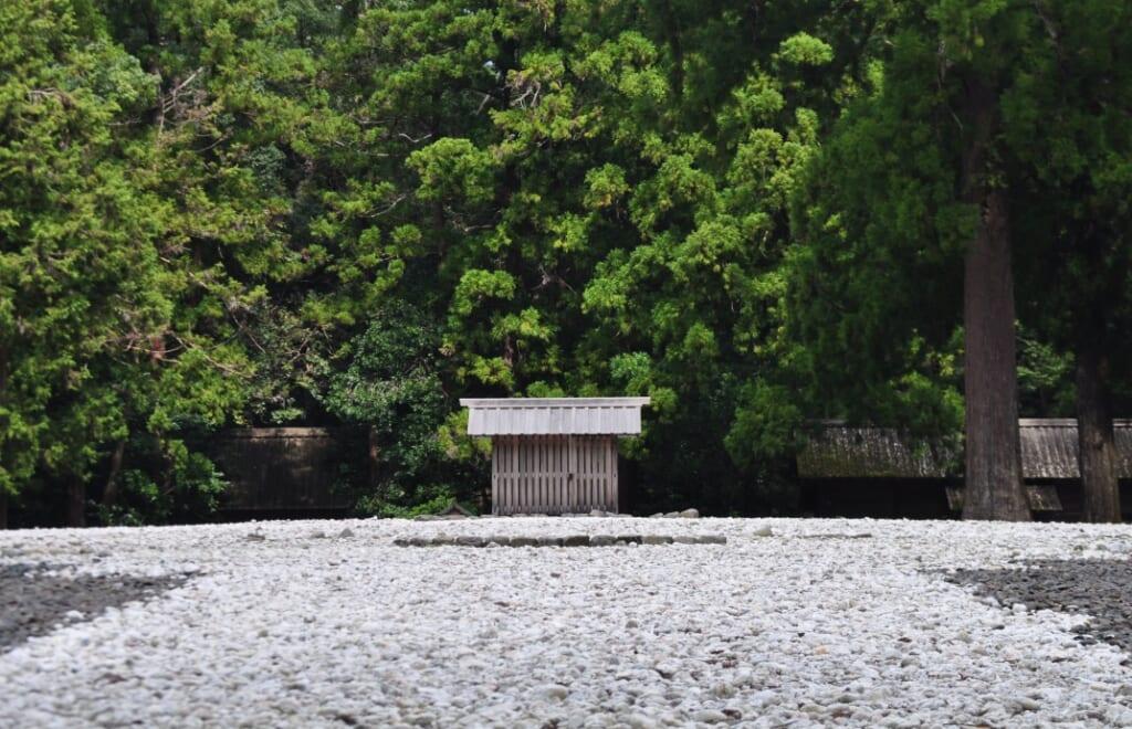 Site où se trouvait l'ancien sanctuaire d'Ise