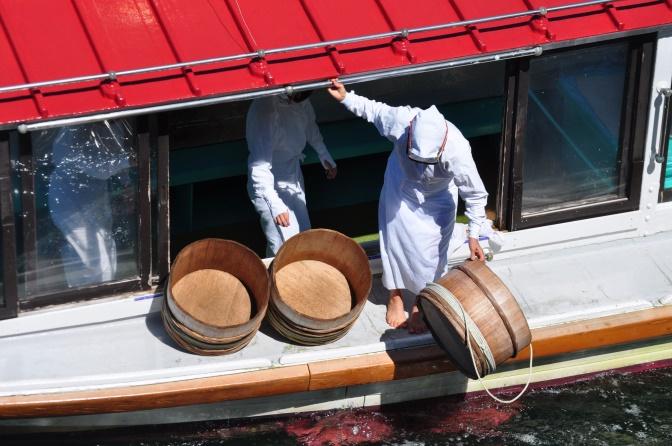 début de l pêche traditionnelle à Ise-Shima