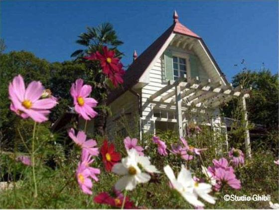 Maison japonaise des années 1950 inspirée de la maison de Mei et Satsuki dans Mon voisin Totoro