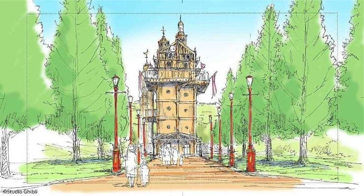 Le parc d'attraction du Studio Ghibli: ce que l'on sait pour le moment