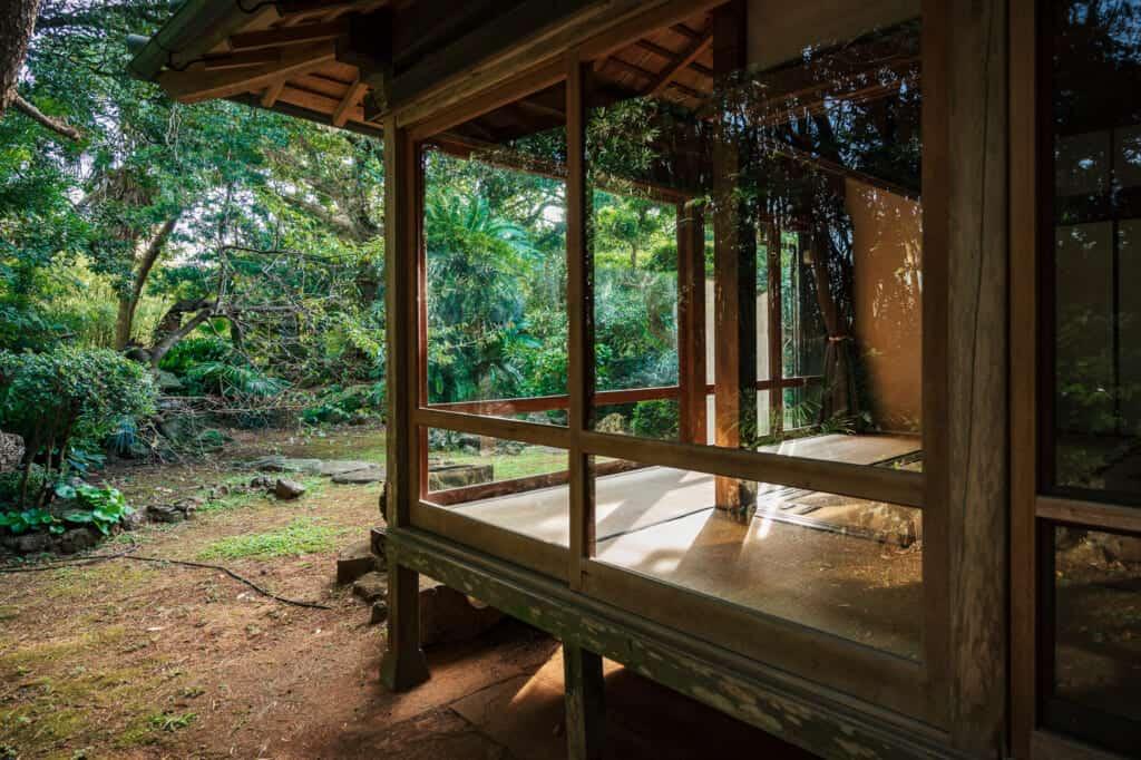 maison traditionnelle japonaise rénovée