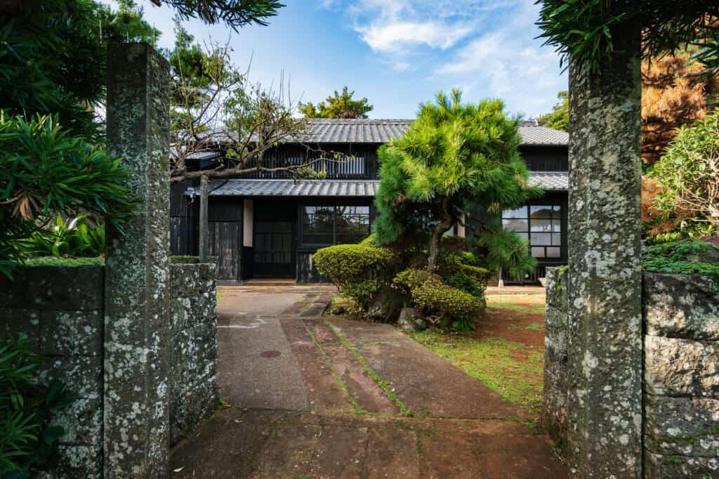 une kominka sur l'île d'Ojika