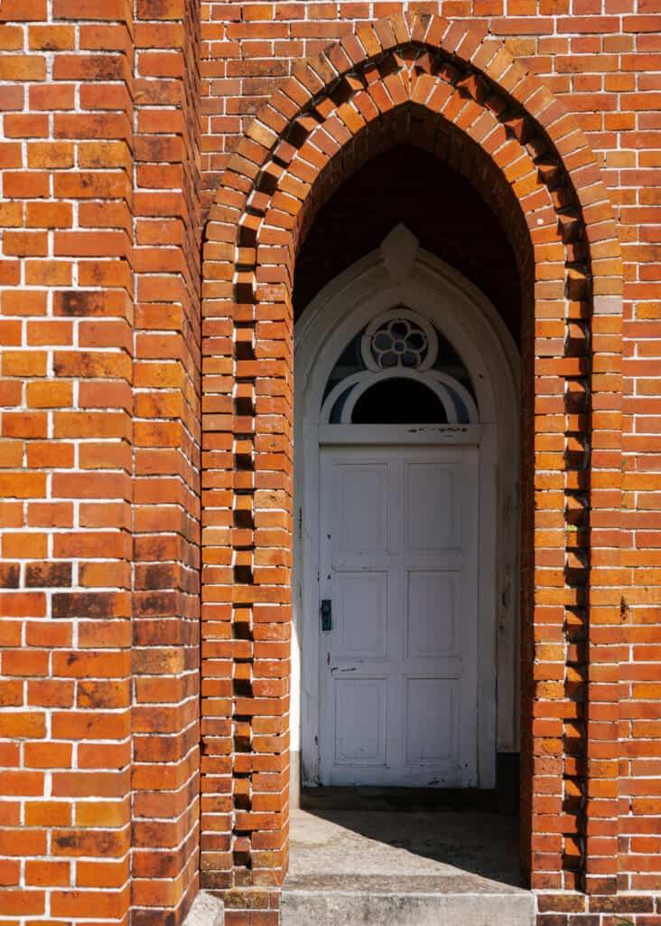 porte de l'église de Nokubi