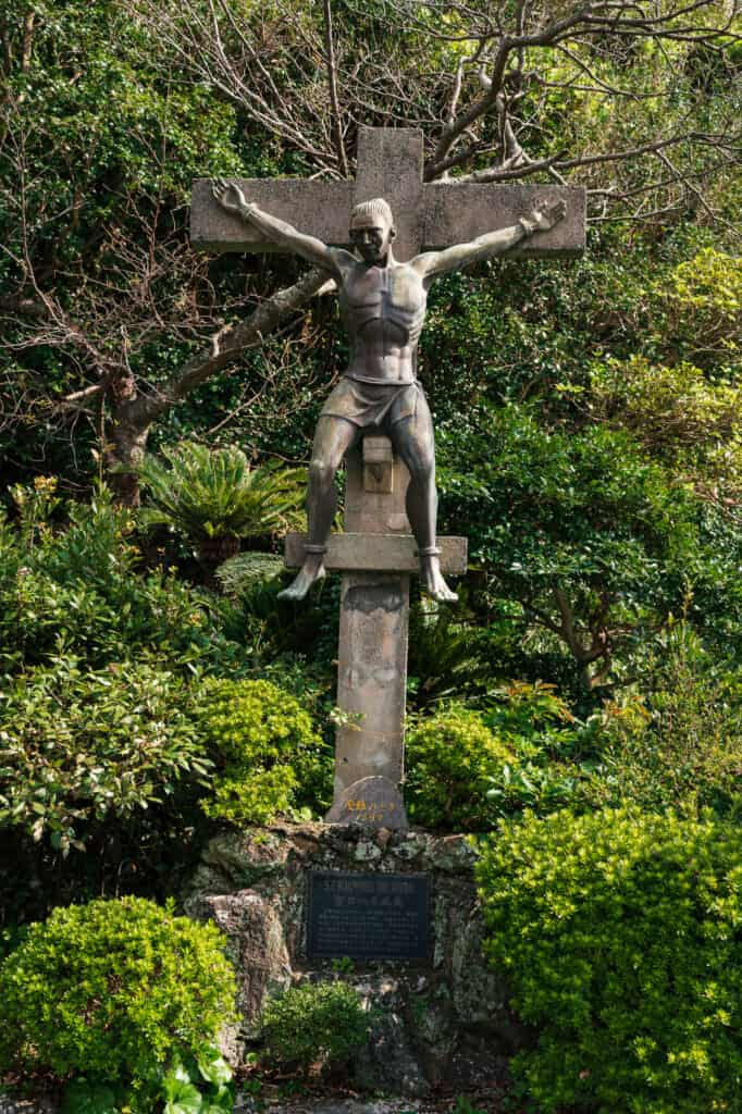 Monument de Saint Jean de Goto crucifié
