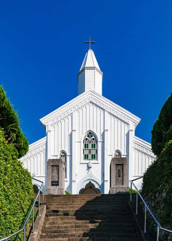 Église de Mizunoura, îles de Goto