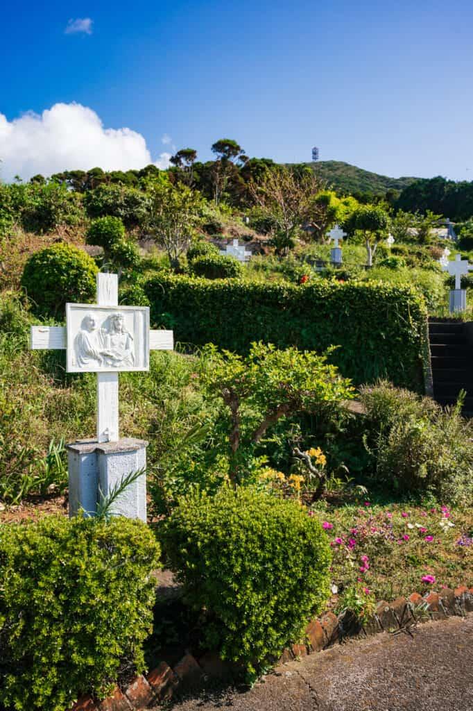Chemin de croix à l'église de Mizunoura, îles de Goto