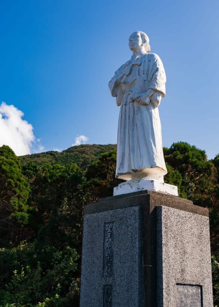 Monument à Saint Jean de Goto, îles de Goto