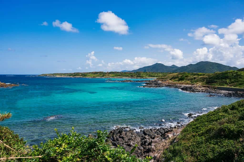 Plage de Hamada sur les îles de Goto