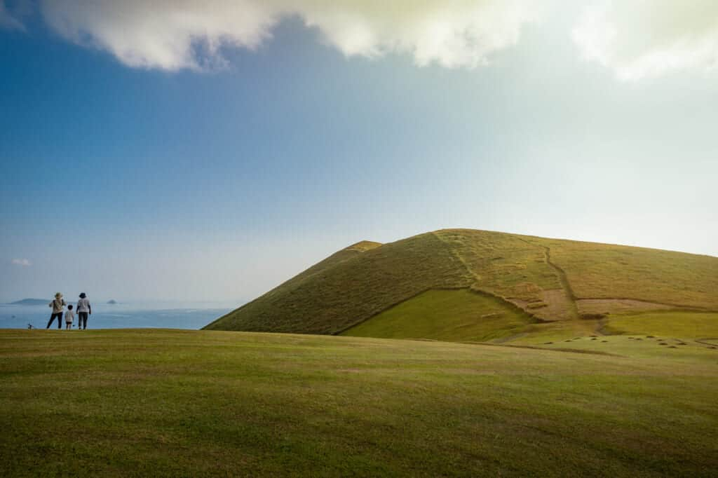Le mont Onidake sur les îles de Goto