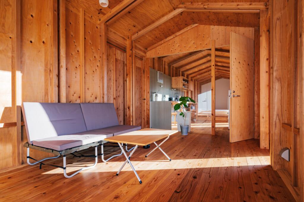 salon d'une suite de kinnagoajiro sur les îles Goto