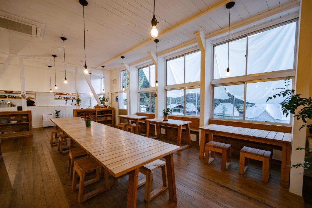 Espace restaurant à nordisk village