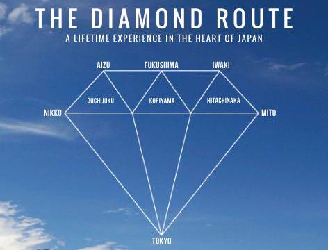 la diamond road qui parcours les préfectures d'Ibaraki, de Tochigi, et de Fukushima depuis Tokyo