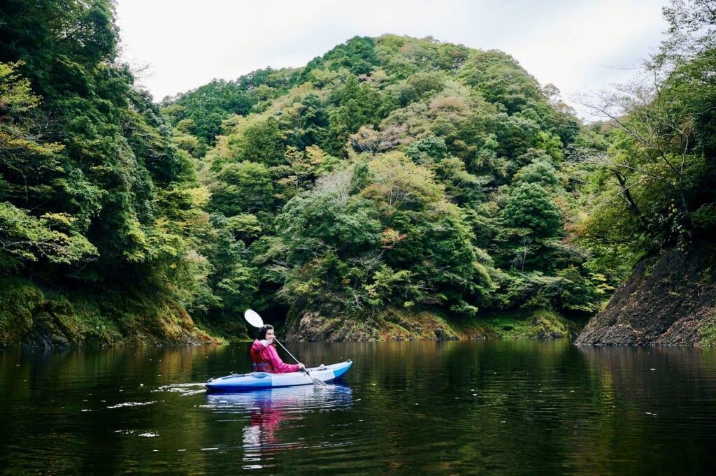 kayak en pleine nature sur la diamond road