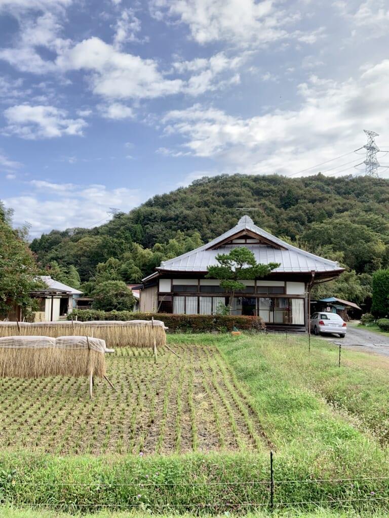 la beauté rurale des vallées d'Okukuji dans la préfecture d'Ibaraki