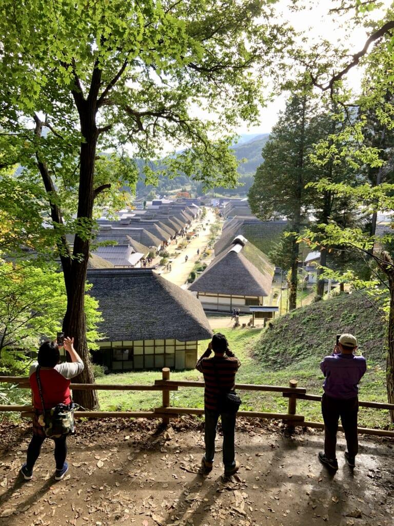 le village de Ouchijuku, un village historique japonais