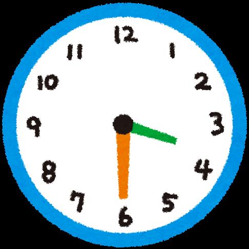 Horloge 3h30