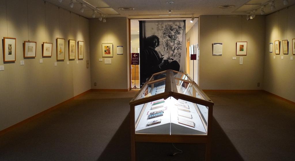 Salle d'exposition du musée