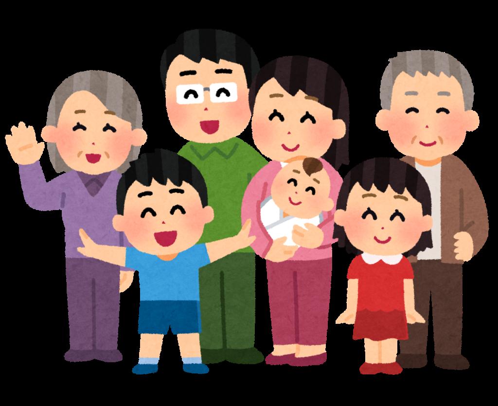 Une famille japonaise
