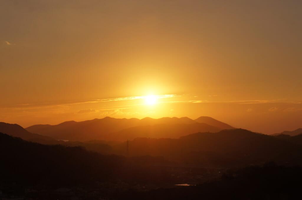 lever de soleil au pays du soleil levant