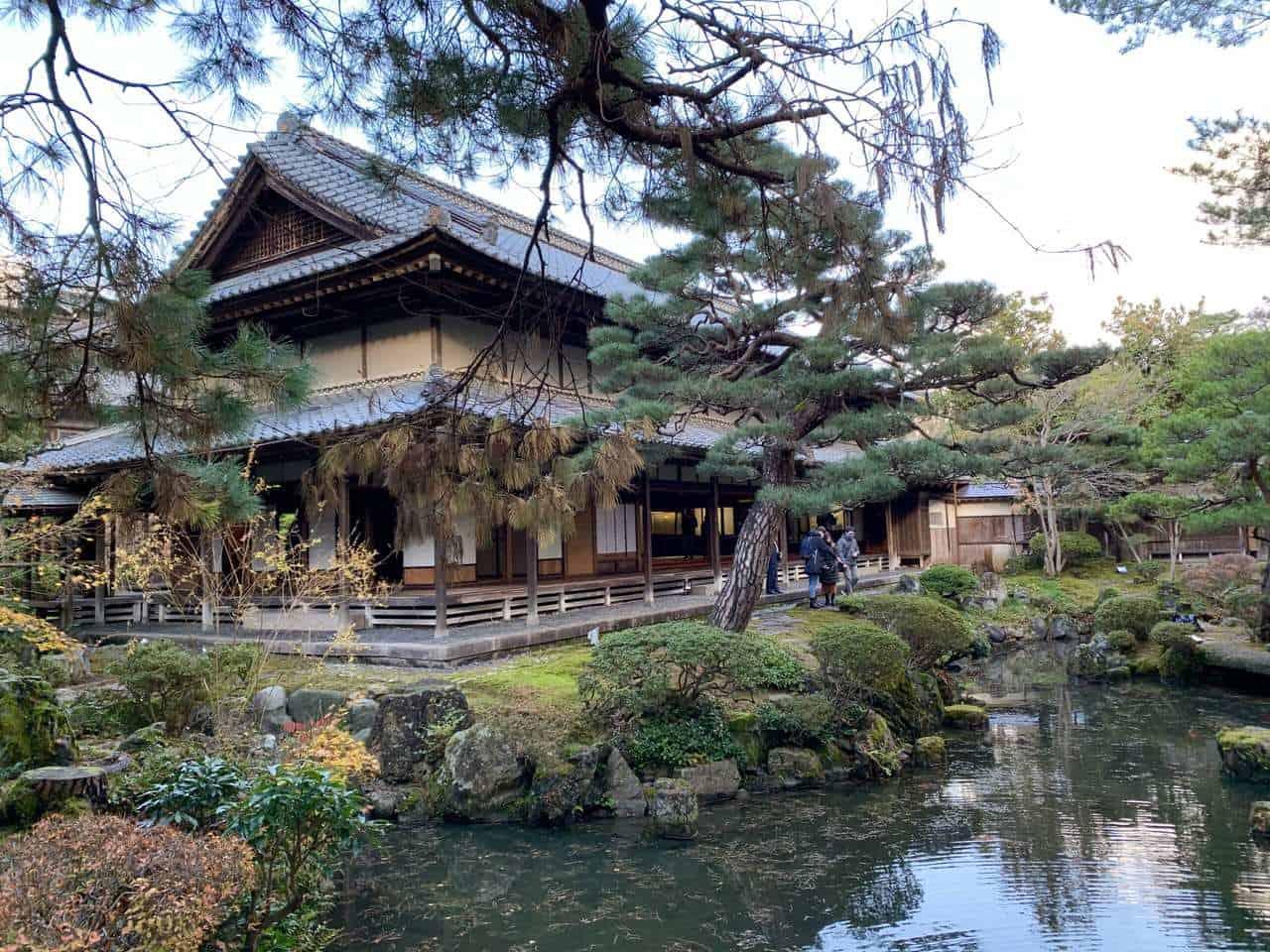 Jardin et villa japonaise à Niigata
