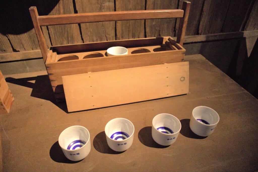 Verres à saké