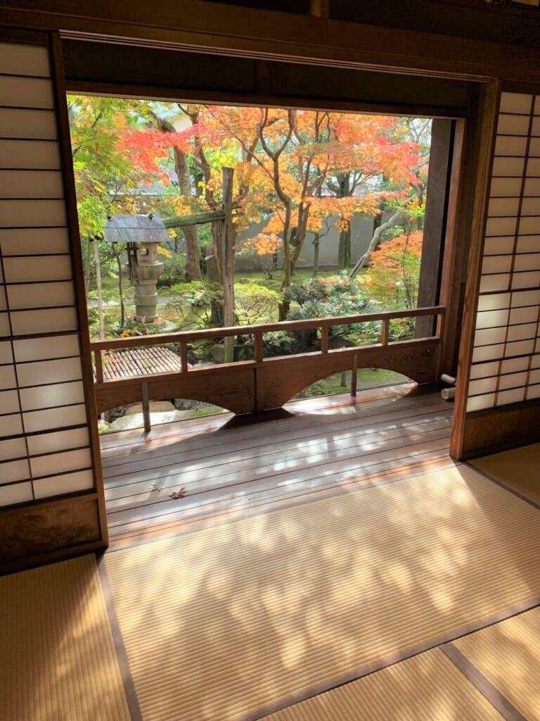 Fenêtre ouverte, Old Saito Residence