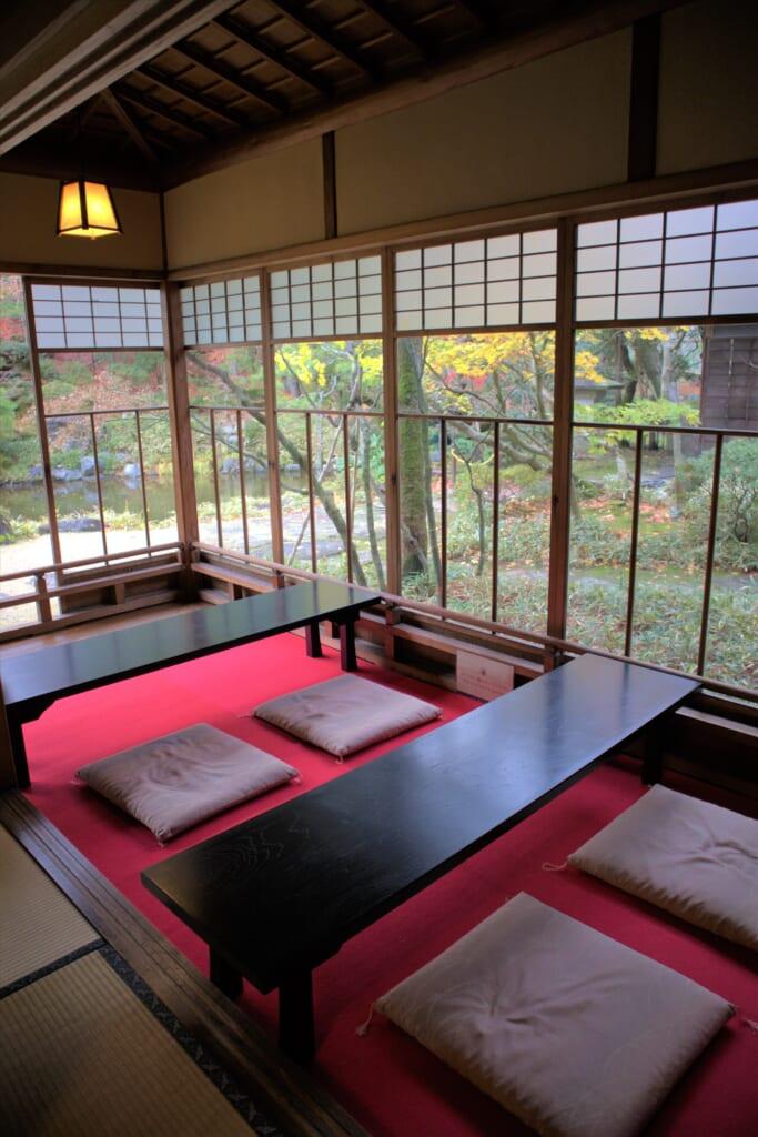 maison traditionnelle japonaise à Niigata