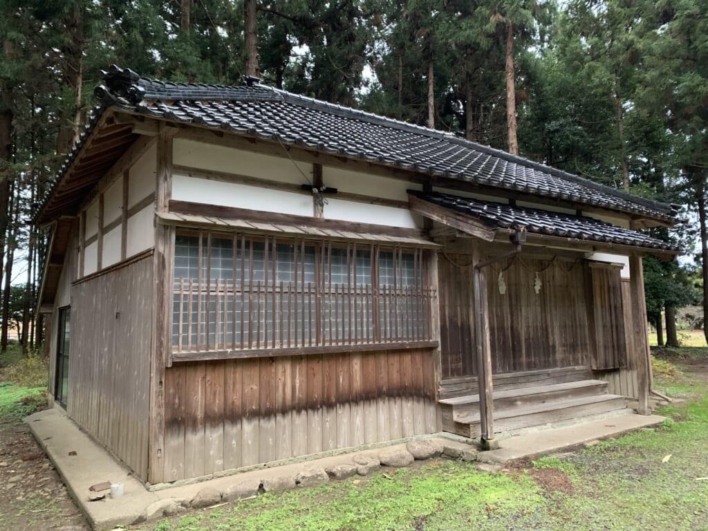 Sanctuaire Sanno-Hiyoshi à Sado