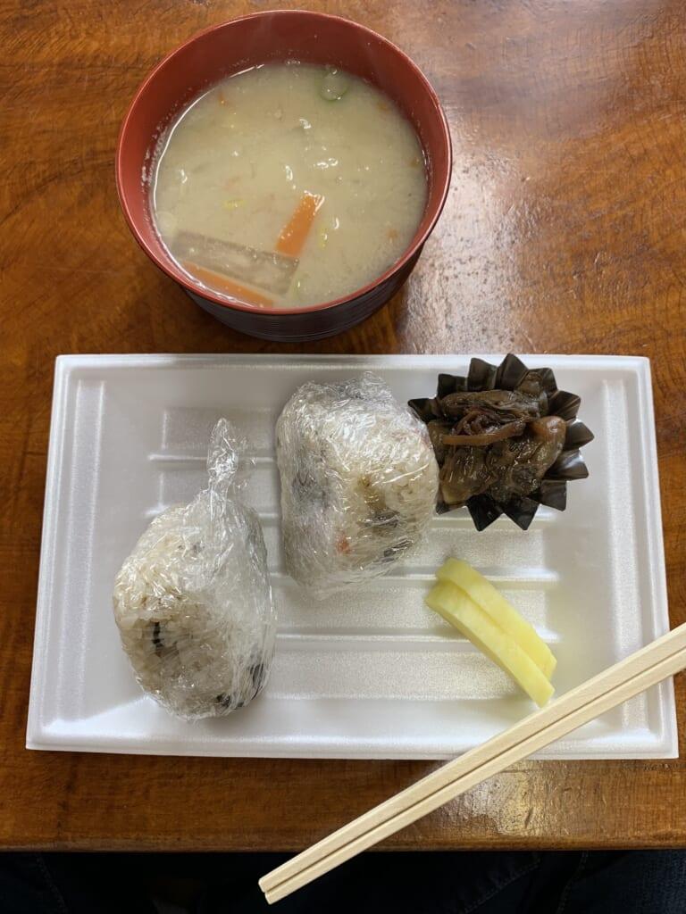 Repas aux huîtres de Sado