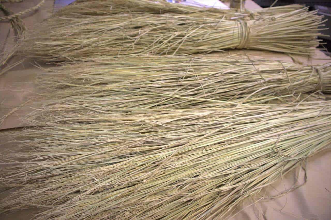Botte de paille de riz