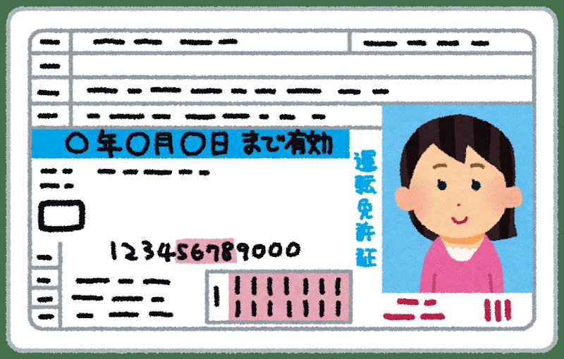 Permis de conduire femme japonaise