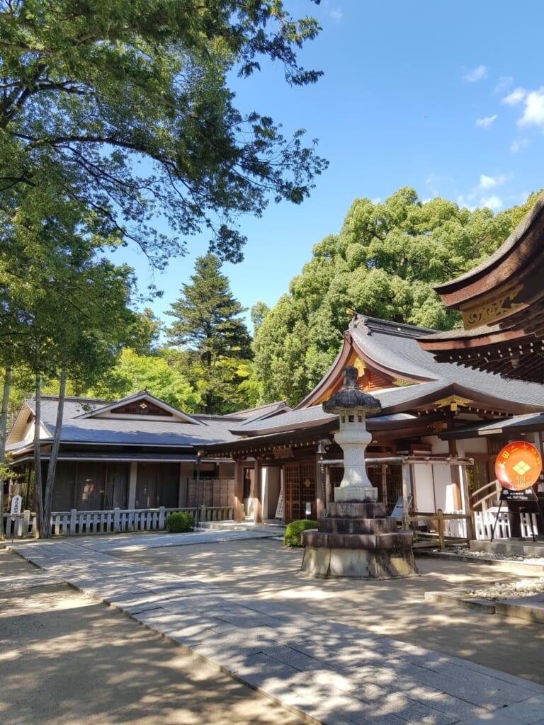 Au cœur du sanctuaire Takeda