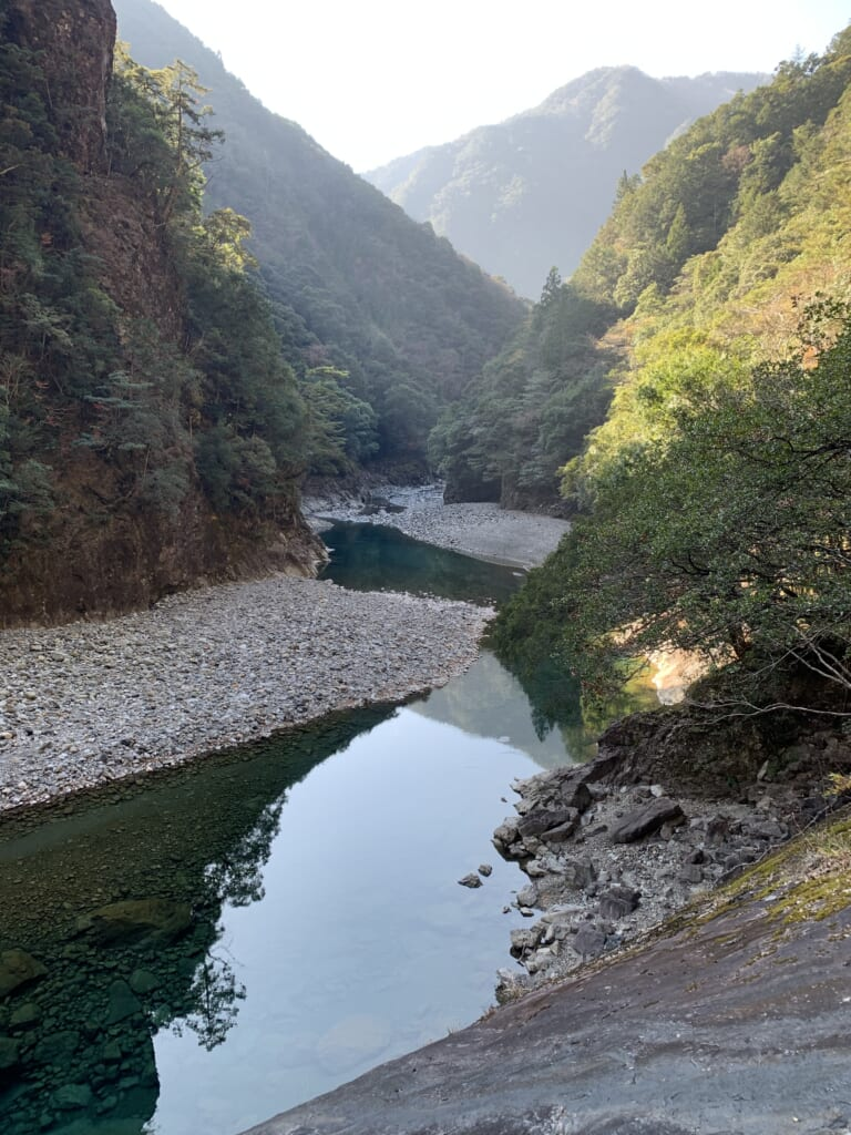 Rivière Miya et gorge 2