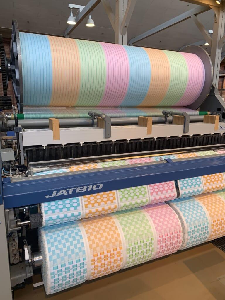 Musée commémoratif Toyota, machine textile