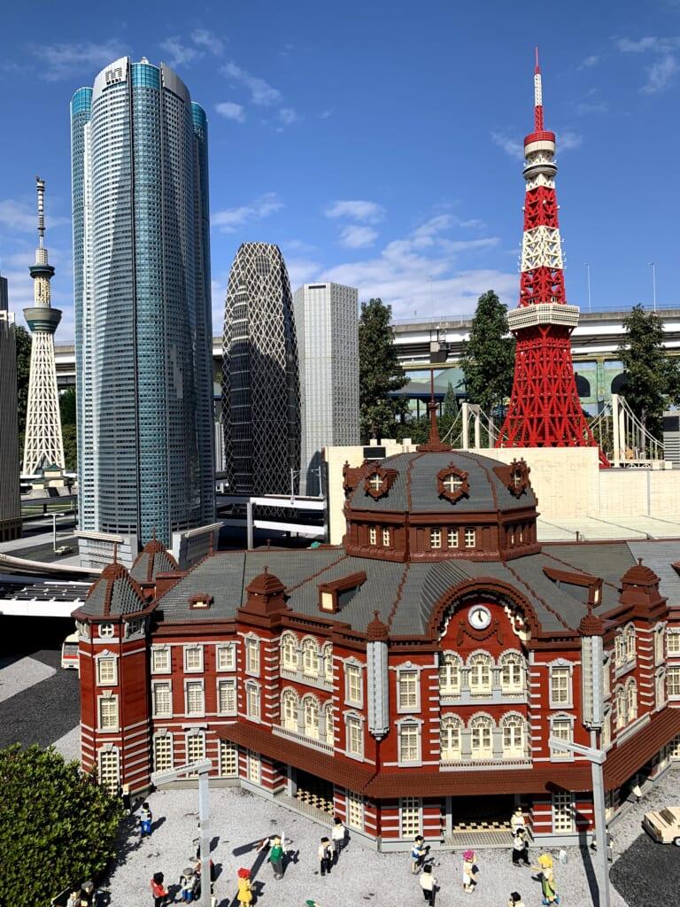 Legoland, Miniland, Tokyo Station