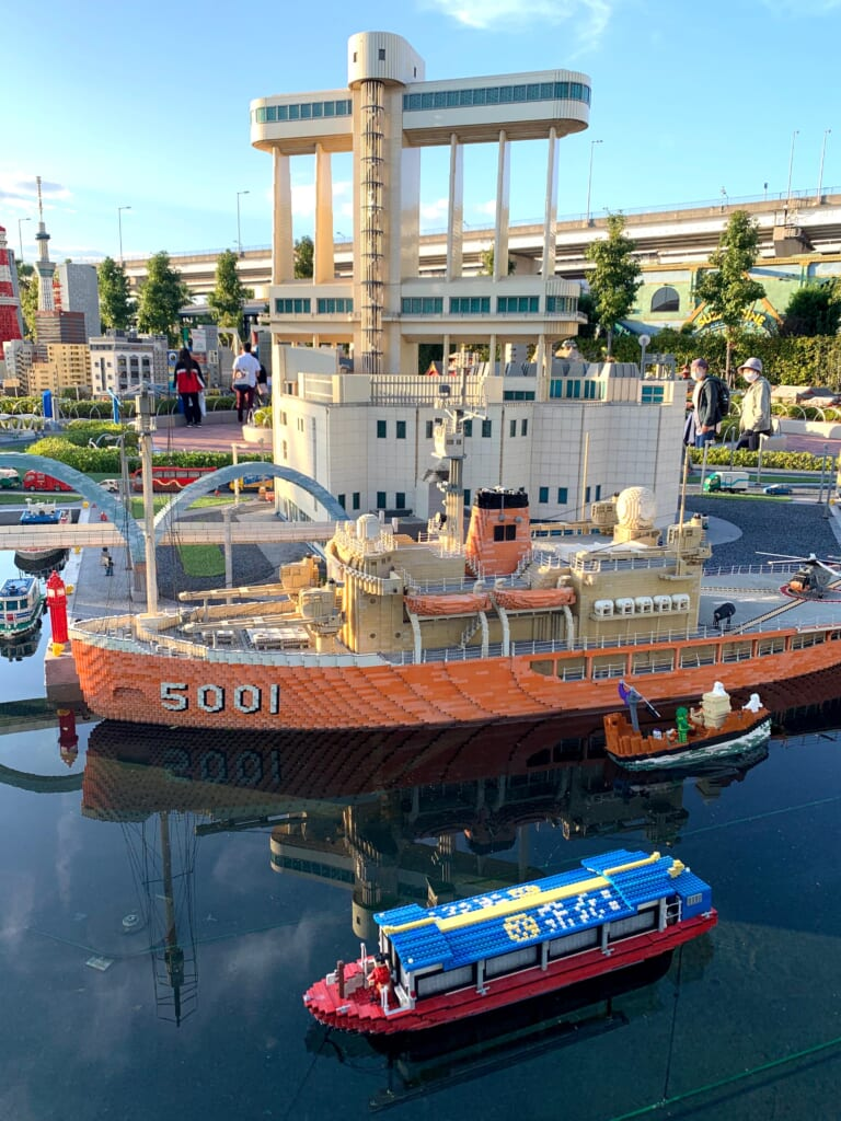 Legoland, Miniland, port de Nagoya