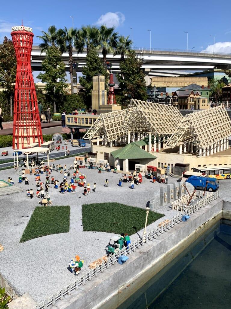 Legoland, Miniland, Kobe