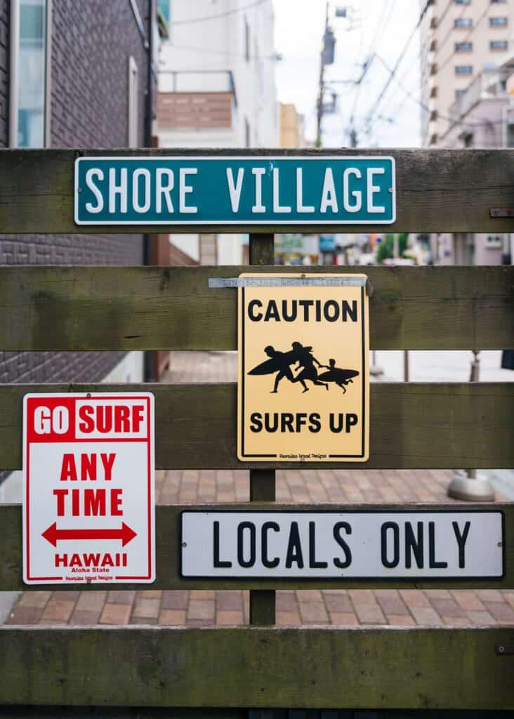 L'atmosphère d'Enoshima rappelle cette de Hawaï