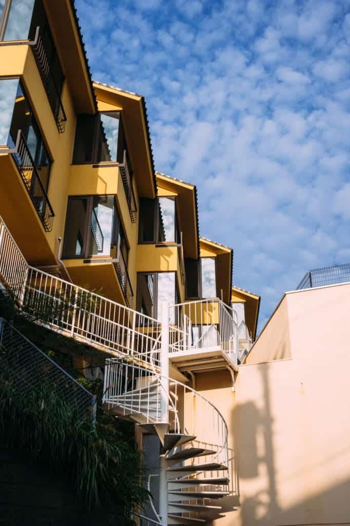 maisons de l'île d'Enoshima