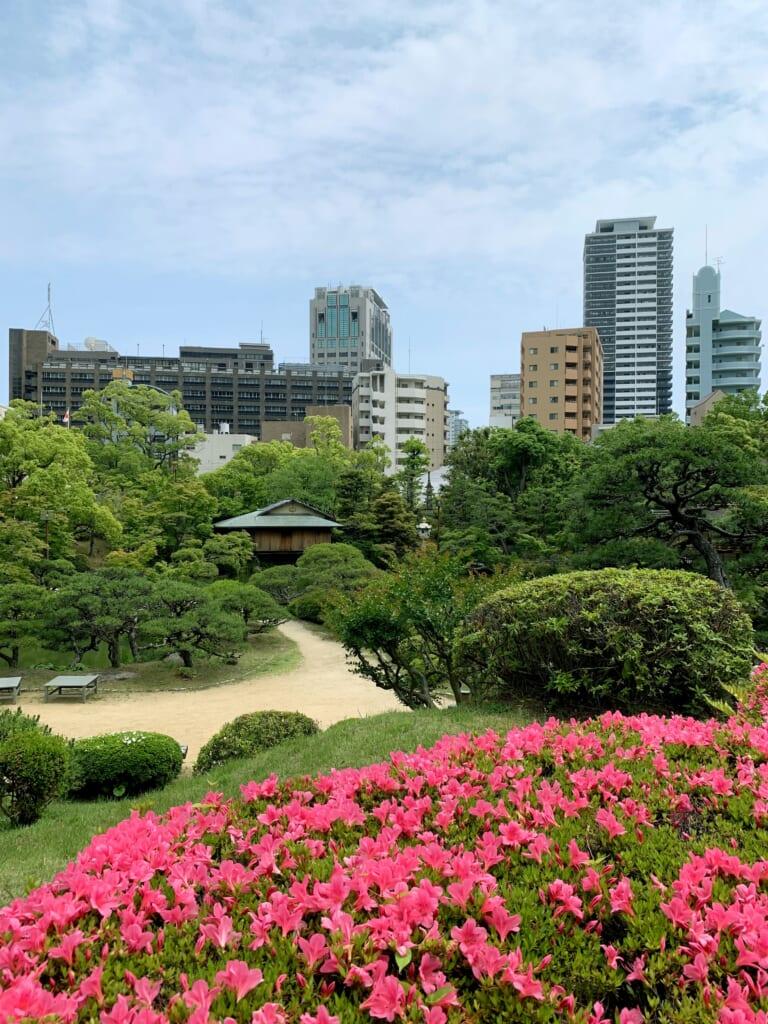 Le jardin japonais sorkauen en plein coeur de Kobe