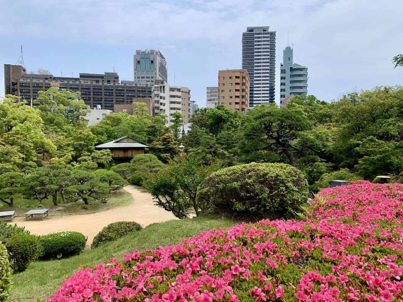 Sorakuen, le jardin japonais de Kobe