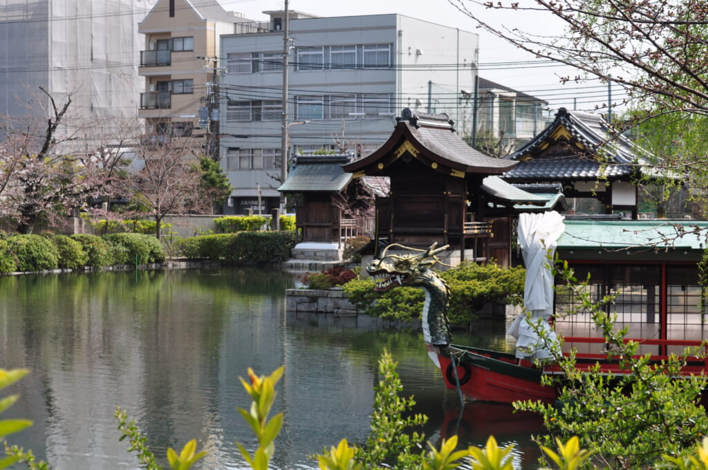 Le Shinsen-en, l'antre du dragon