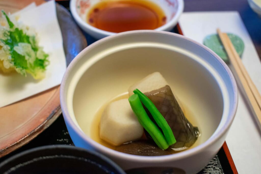 Légumes japonais traditionnel