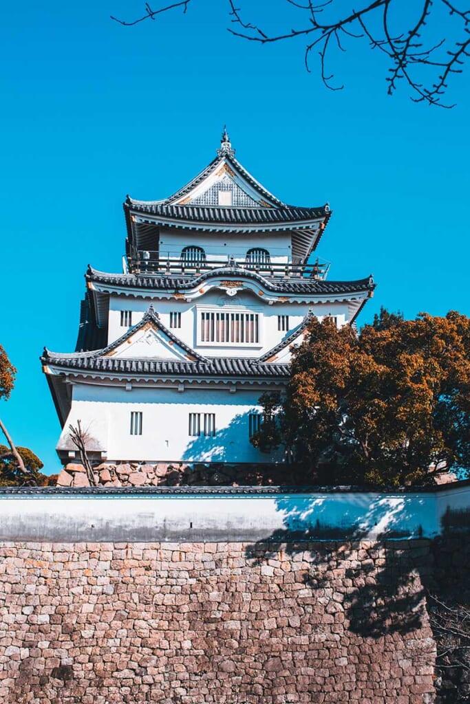 Château de Kishiwada dans le sud d'Osaka
