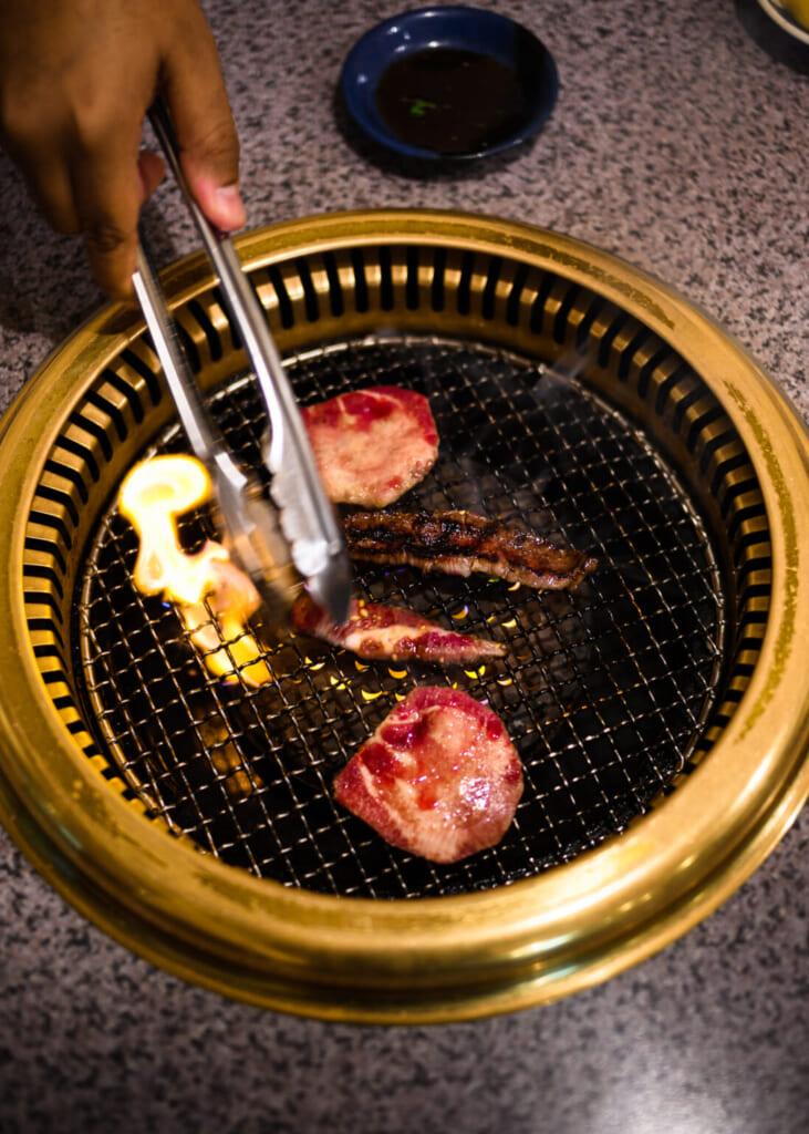 yakiniku le barbecue à la japonaise
